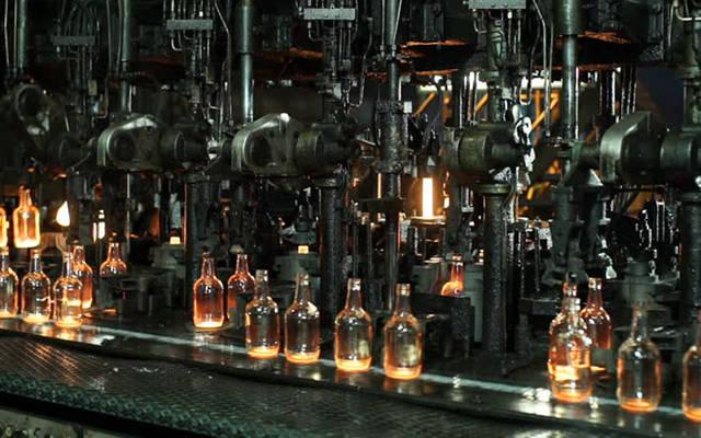 خطوط إنتاج العبوات الزجاجية بالشركة