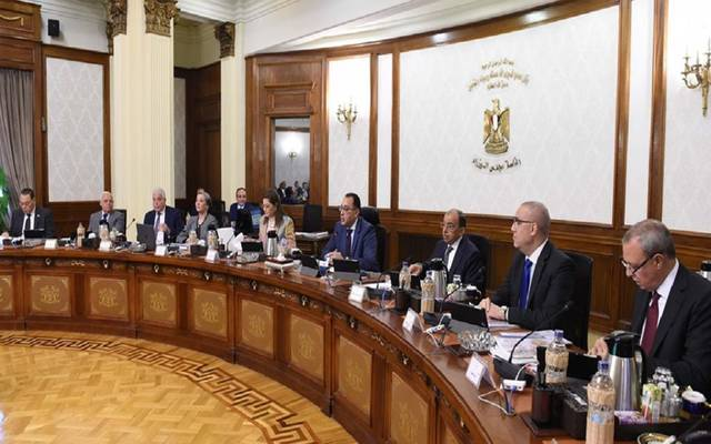 جانب من اجتماع سابق لمجلس الوزراء المصري