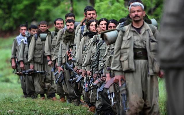 صورة أرشيفية لحزب العمال الكردستاني