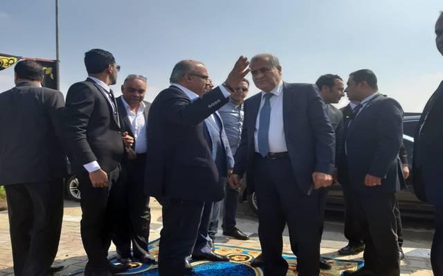 جانب من جولة وزير التموين المصري بالمنطقة اللوجيستية بدمنهور