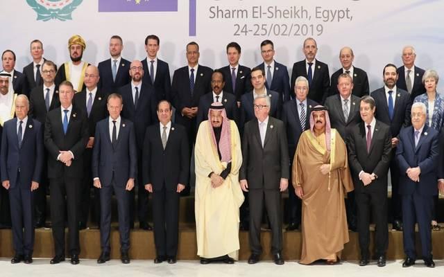 السيسي يعلن اختتام القمة العربية الأوروبية.. والقادمة في بروكسل 2022