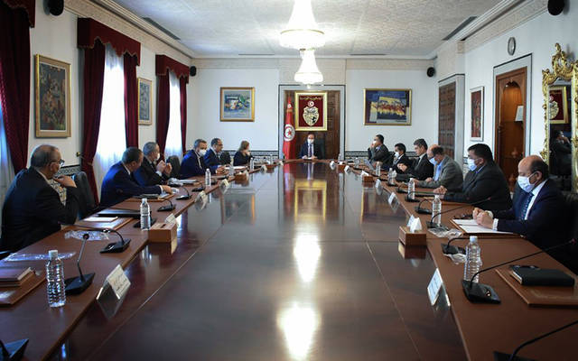 جانب من اجتماع الحكومة التونسية