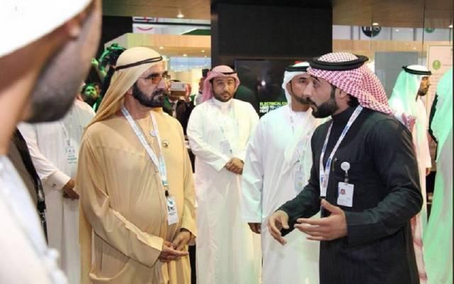 عرض الجناح السعودي مشروع نظام تحلية وتبريد المياه بالامتصاص