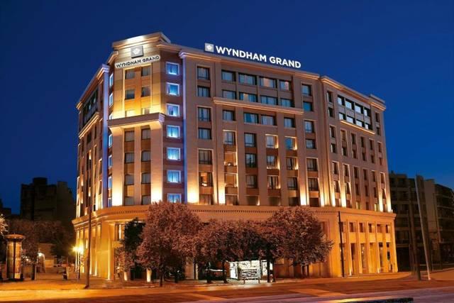 أحد الفنادق التابعة لمجموعة فنادق ويندام