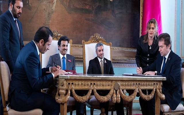 The two sides also signed an agreement on the abolition of visa requirements
