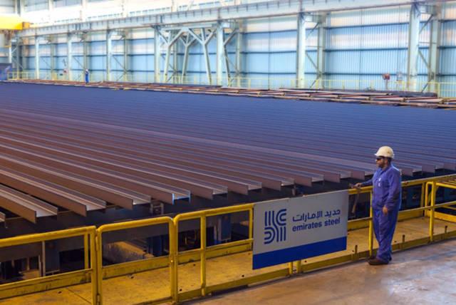 مصنع حديد بدولة الإمارات