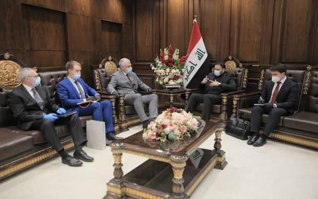 النائب الأول لرئيس مجلس النواب يستقبل السفير الروسي لدى العراق