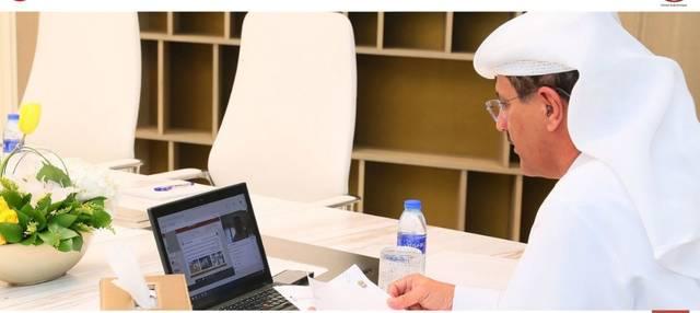 وزير الاقتصاد الإماراتي المهندس سلطان بن سعيد المنصوري