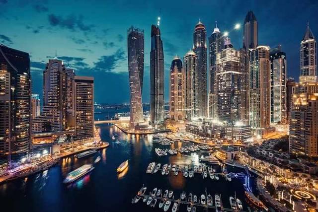 ناطحات سحاب في إمارة دبي