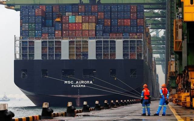 The handled containers amounted to 1.55 million
