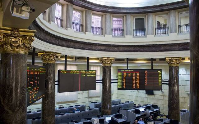 The EGX30 index fell 0.82%, finishing the session at 14,910.78 points