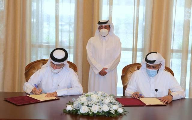 خلال توقيع وزارة المواصلات والاتصالات مذكرة التفاهم مع المعهد القطري للتصميم والتشييد الفعال