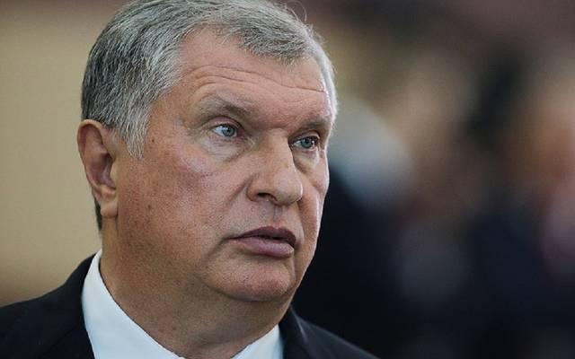 إيجور سيتشن الرئيس التنفيذي لشركة روسنفت
