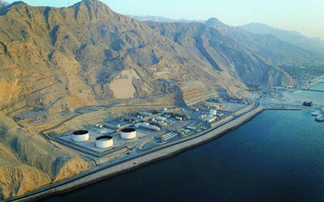 محطات معالجة الغاز بشركة مسندم للطاقة