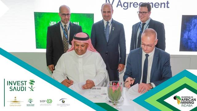 The agreement was signed on the sidelines of the Indaba conference