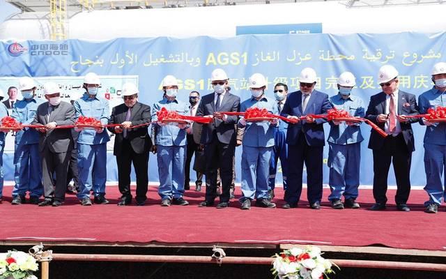 وزير النفط العراقي يفتتح مشروع ترقية محطة عزل الغاز في حقل أبو غرب بمحافظة ميسان
