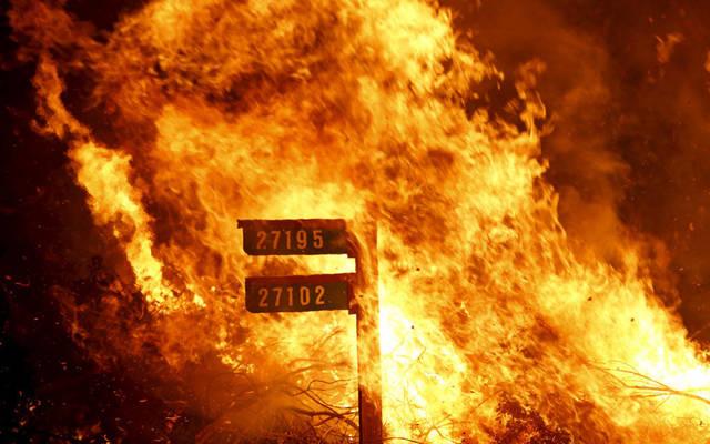 التأمين ضد الحرائق أحد أنشطة الشركة - الصورة من رويترز أريبيان آي