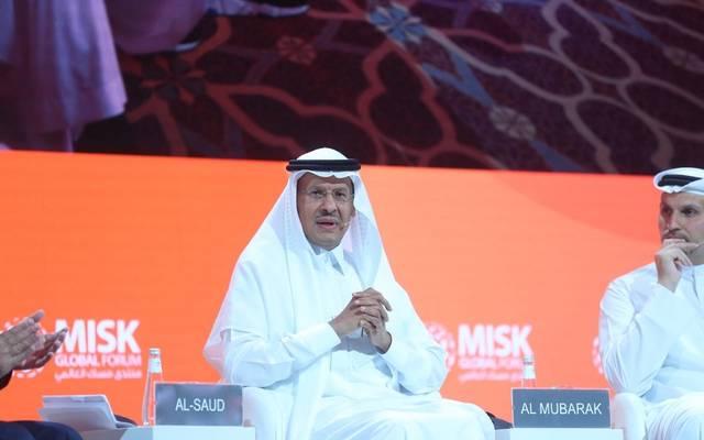 وزير الطاقة السعودي الأمير عبدالعزيز بن سلمان خلال مشاركته بمنتدى مسك