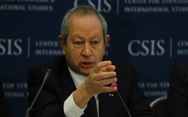 نجيب ساويرس  رئيس شركة أوراسكوم للاستثمار