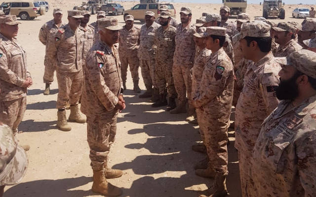 رئيس الأركان خلال جولة تفقدية بوحدات الدفاع الجوي
