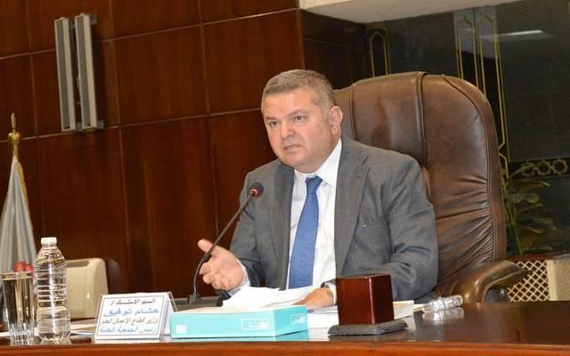 وزير قطاع الأعمال المصري هشام توفيق - أرشيفية