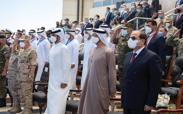 الرئيس المصري عبد الفتاح السيسي خلال الافتتاح