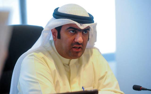 وزير التجارة والصناعة وزير الدولة لشؤون الشباب بالوكالة خالد الروضان
