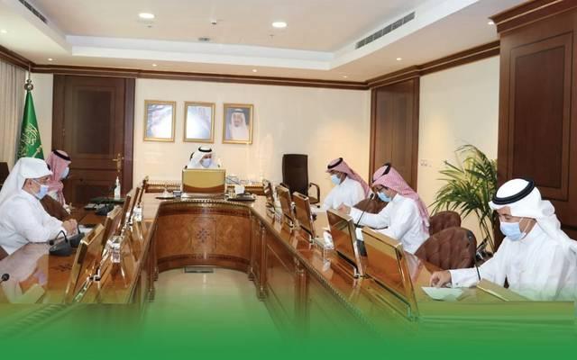 وزير البيئة والمياه والزراعة السعودي، عبدالرحمن الفضلي، يترأس اجتماع مجلس إدارة صندوق التنمية الزراعية