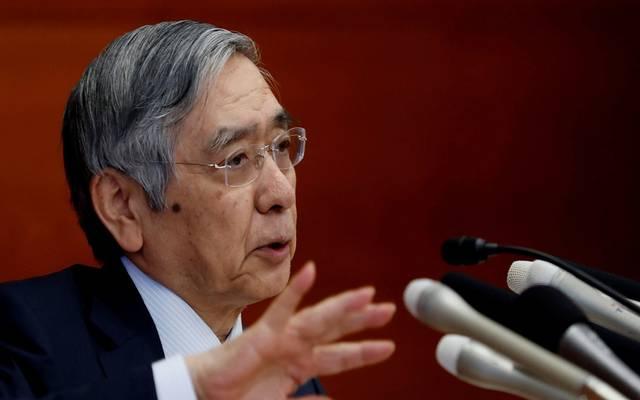 محافظ المركزي الياباني: تبادلت الآراء مع آبي حول الاقتصاد والأسواق