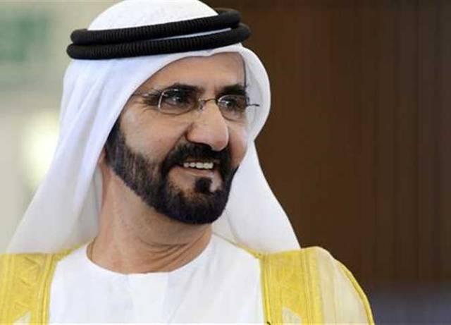 الشيح محمد بن رشد، نائب رئيس دولة الإمارات العربية المتحدة، رئيس مجلس الوزراء، حاكم إمارة دبي