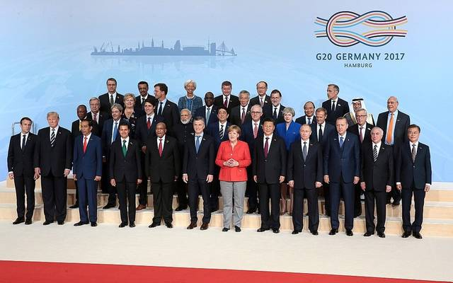 رؤساء مجموعة العشرين بقمة هامبورج عام 2017 ـ أرشيفية