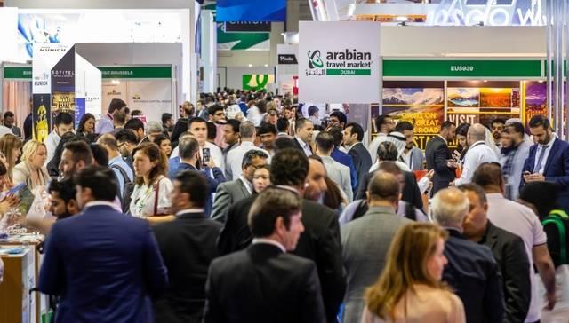 جانب من إحدى الفعاليات السابقة  لمعرض سوق السفر العربي