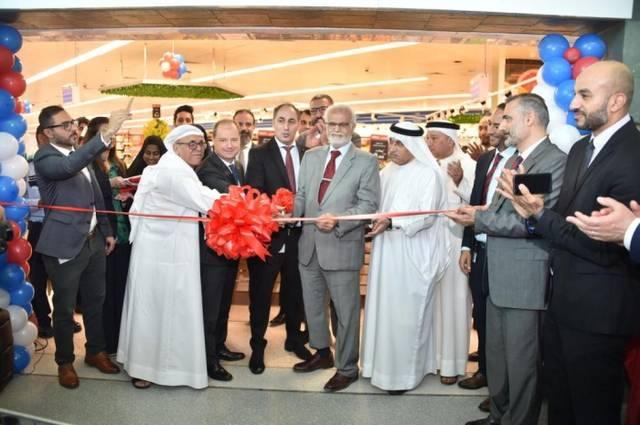 صورة لافتتاح أحدث متاجر كارفور في البحرين