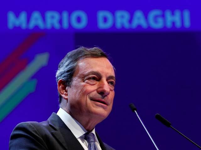 """""""ماريو دراجي"""" رئيس البنك المركزي الأوروبي"""