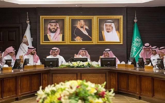 وزير التجارة والاستثمار السعودي، ماجد القصبي، يلتقى رئيس مجلس الغرف السعودية ونائبيه ورؤساء مجالس إدارات الغرف التجارية والصناعية بالمملكة