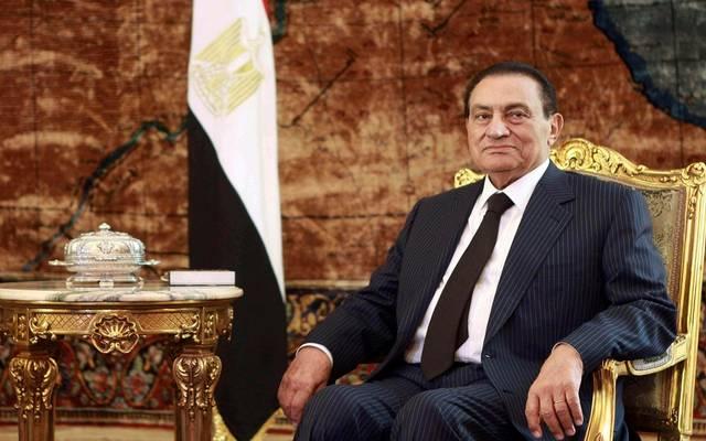 رئاسة الجمهورية تنعى الرئيس الأسبق محمد حسني مبارك