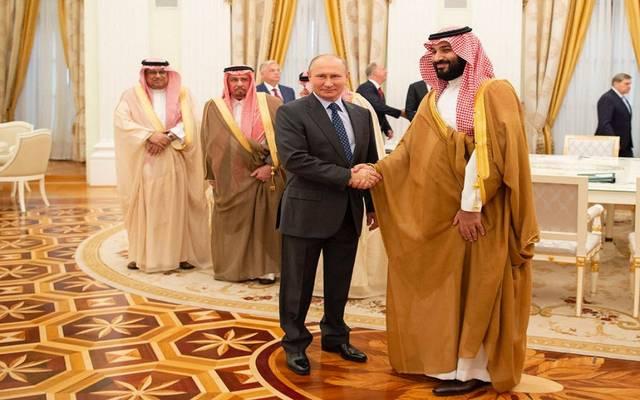 الأمير محمد بن سلمان والرئيس الروسي