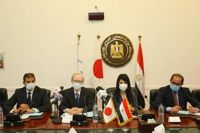 Japan's current cooperation portfolio in Egypt reached $2.71 billion