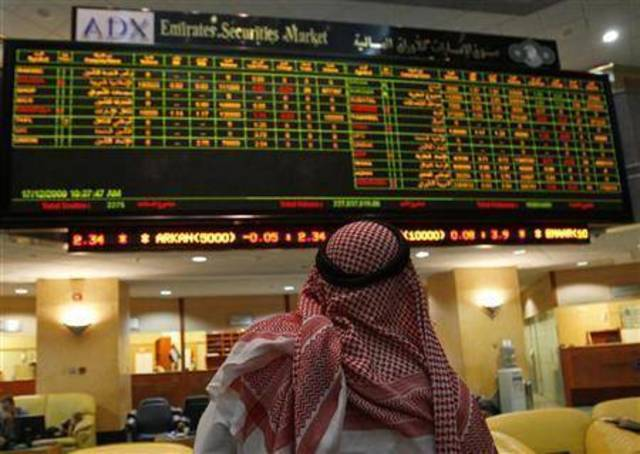 The ADX's general index levelled up 35.28 points