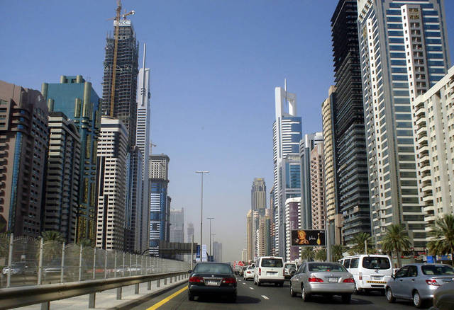 أحد شوارع إمارة دبي