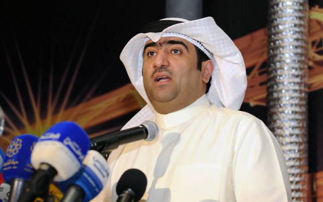 وزير التجارة والصناعة ووزير الدولة لشؤون الشباب بالوكالة خالد الروضان
