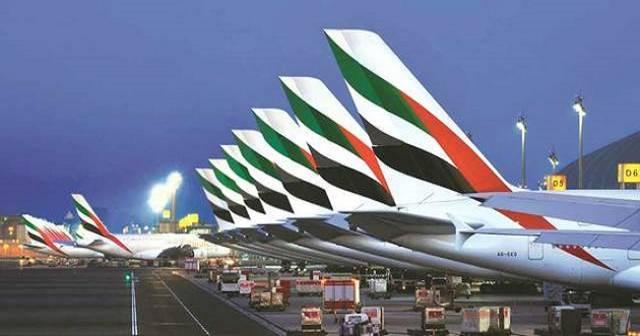 طائرات الناقلات الجوية الإماراتية