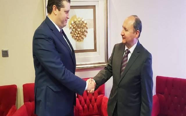 لقاء وزيري تجارة مصر وتونس