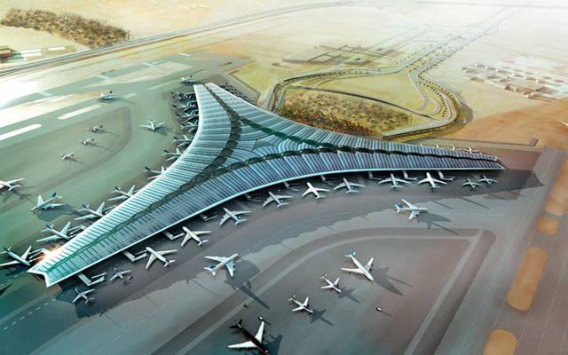 مشروع مبنى الركاب الجديد بمطار الكويت الدولي