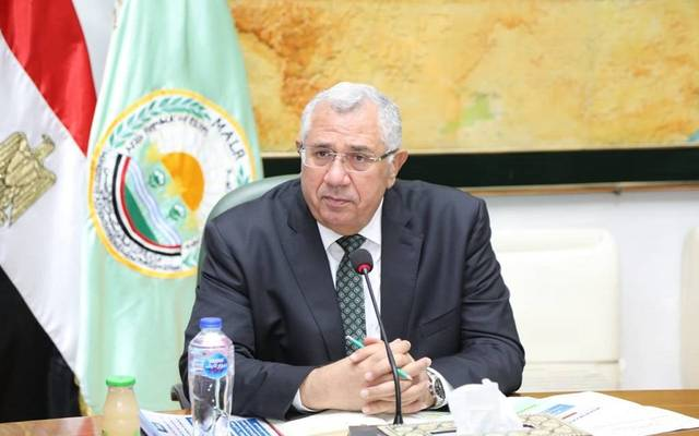 Minister of Agriculture El-Sayed El-Qosair