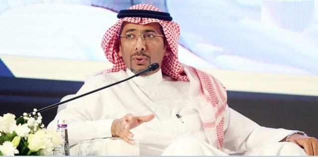 وزير الصناعة السعودي بندر الخريف خلال ملتقى صناعيي الرياض