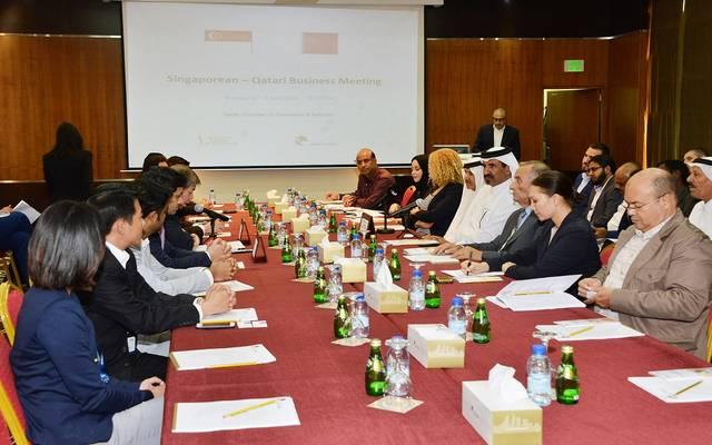 6.4 مليار دولار حجم التبادل التجاري بين قطر وسنغافورة
