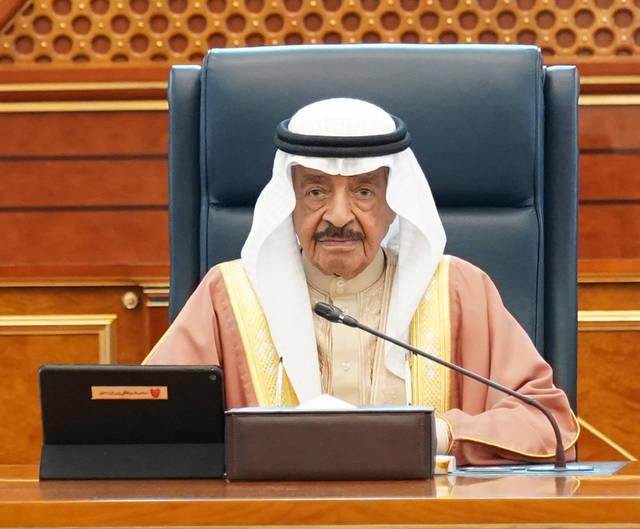 صورة أرشيفية لرئيس وزراء البحرين  الأمير خليفة بن سلمان آل خليفة