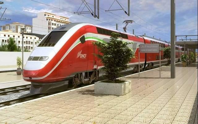 أحد القطارات في المغرب