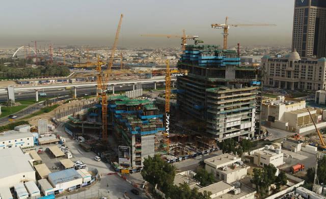 أحد مشاريع شركة دماك العقارية بإمارة دبي، الصورة أرشيفية